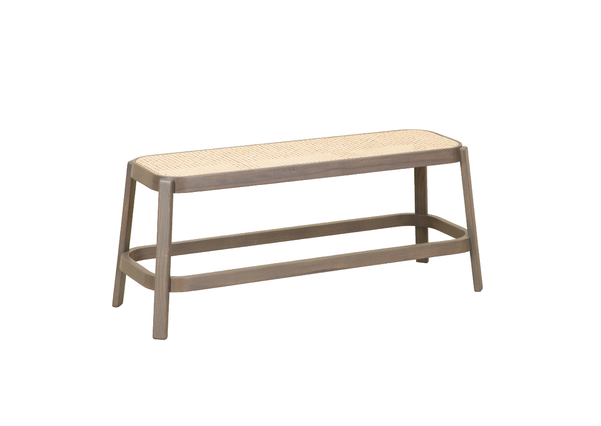 CANE bench, dark grey
