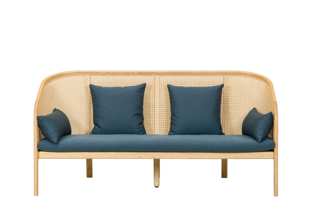 [매장문의] CANE SOFA-01 2P, natural ash