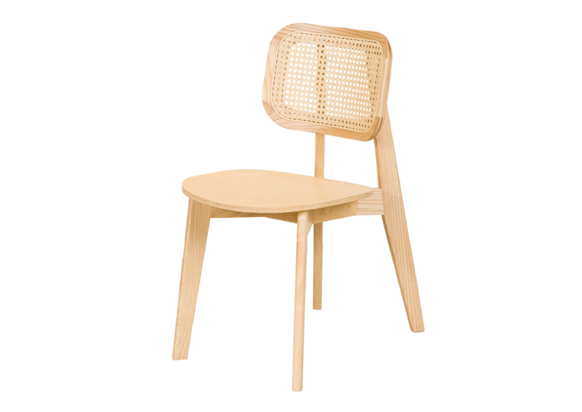 CANE chair A, natural