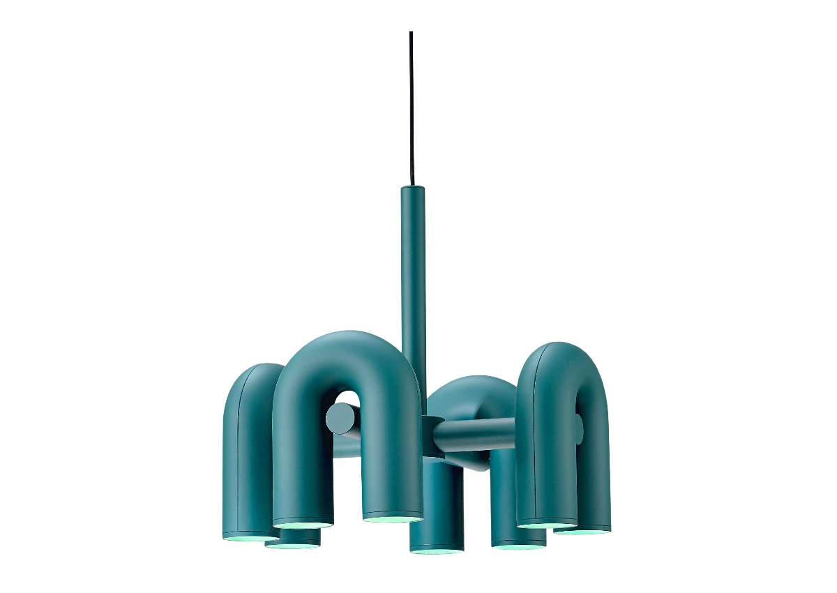 AGO cirkus chandelier (Small size), green