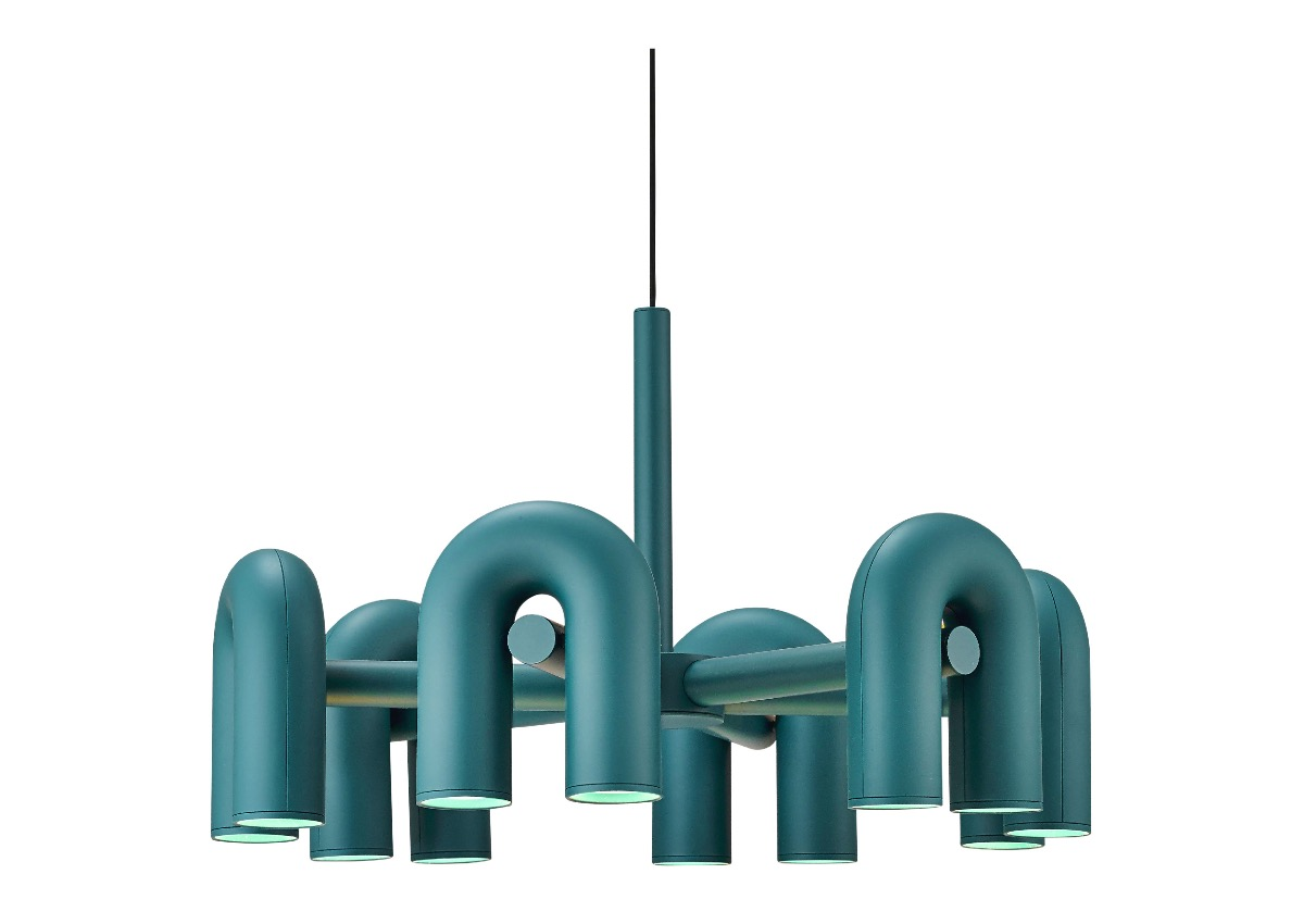 AGO cirkus chandelier (Large size), green