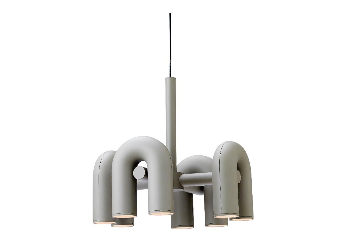 AGO cirkus chandelier (Small size), grey